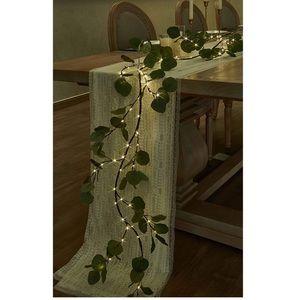 Lighted Artificial Eucalyptus - Garland 6FT 96 LED